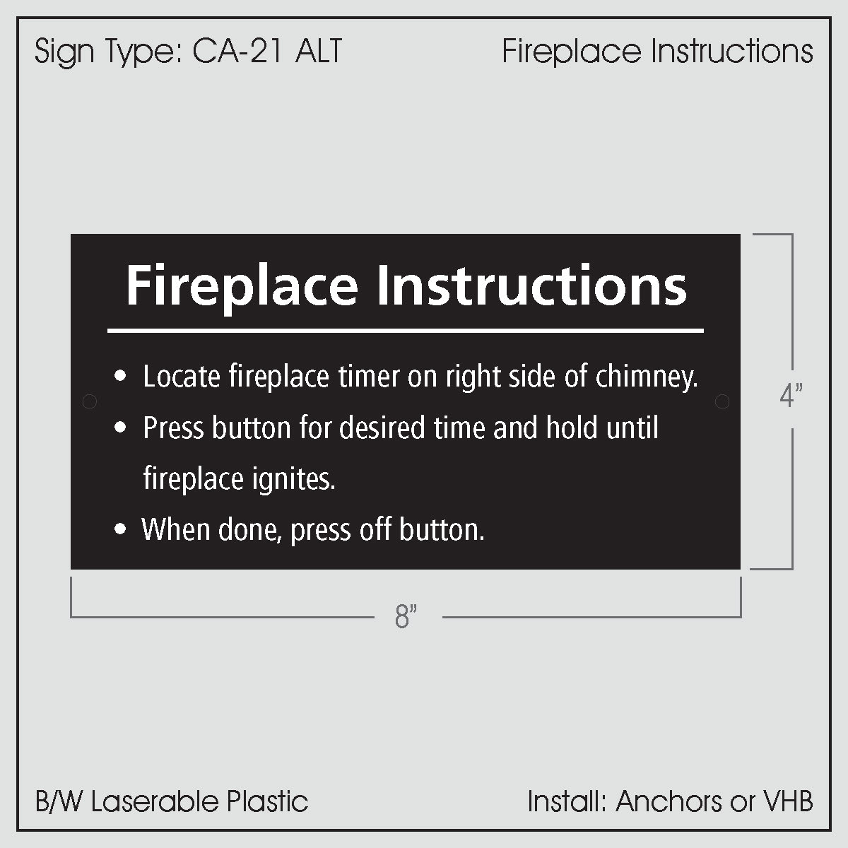 Excellent Fireplace Instructions Ca 21Alt Download Free Architecture Designs Lukepmadebymaigaardcom